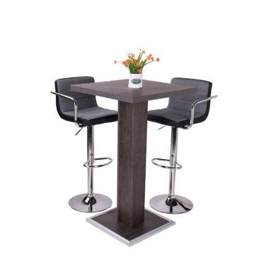Bar asztal+2 db Chloe bárszék